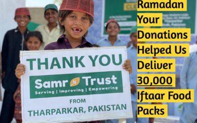 Thanks to your donations last Ramadan